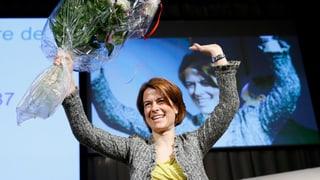 Petra Gössi ist die neue FDP-Präsidentin