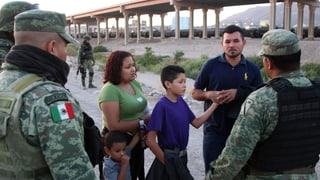Mexiko stoppt mehr Migranten vor US-Übertritt