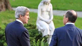 USA und Russland planen internationale Syrien-Konferenz