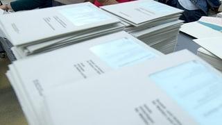 Tramess ils documents sbagliads per las elecziuns naziunalas