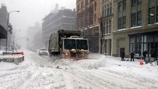 «Snowzilla»: Mehr als ein Dutzend Tote