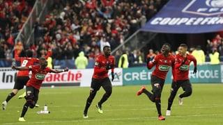 Stade Rennes düpiert PSG im Cupfinal
