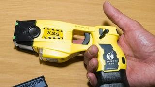 Aargauer Regierung ist gegen Ausrüstung mit der Elektrowaffe