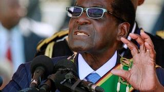 Mugabe tritt siebte Amtszeit an