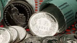 Weniger Geld pro Franken – zur Freude der Industrie