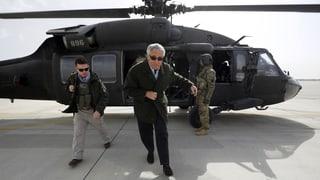Blutige Botschaft der Taliban an Chuck Hagel