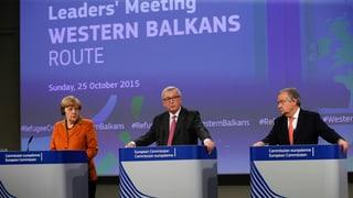 17-Punkte-Plan: Die Beschlüsse des Balkan-Sondertreffens