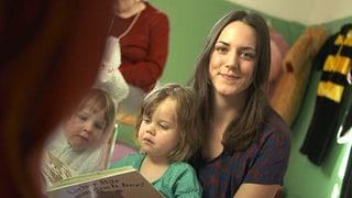 Video «Mit Nina Mavis Brunner im Generationenhaus «Mix Max»» abspielen