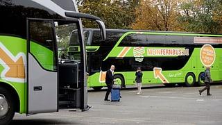 Bahnstreik in Deutschland: Bus ersetzt Zug