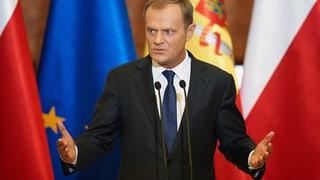 Tusk sieht Stabilität Polens bedroht