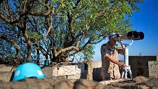 Extremisten entführen UNO-Soldaten auf dem Golan