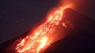 «Feuer-Vulkan» in Guatemala deckte Dörfer mit Asche ein