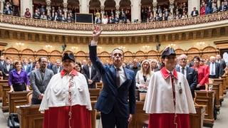 Die Landesregierung als Swissminiatur