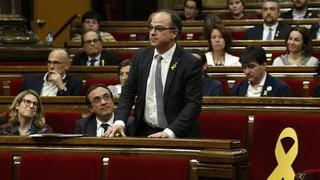 Katalanischer Separatisten-Kandidat ohne Mehrheit