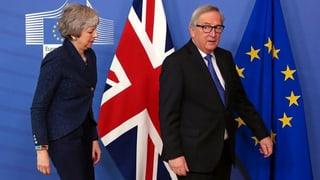 Treffen Juncker-May endet ohne Fortschritt