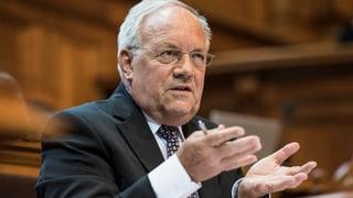 Schneider-Ammann: Alle sollen ihren Spar-Beitrag leisten