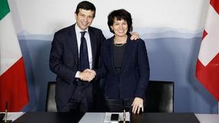 Schweiz zahlt: 150-Millionen-Zückerli für Italiens Bahnanschlüsse