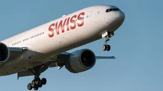 Swiss ist gegen CO2-Abgabe auf Flugtickets