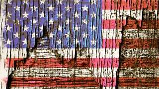 Zornige, weisse Männer halten sich für die wahren Amerikaner