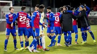 Basels versöhnlicher Vorrundenabschluss in Sion