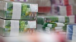 Banknotendruck von Orell Füssli alles andere als lukrativ