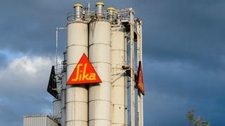 Sika: Gute Zahlen trotz Übernahmekampf