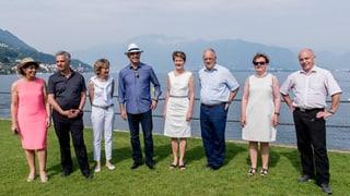 Bundesratsreise zum «Hot Spot» Tessin