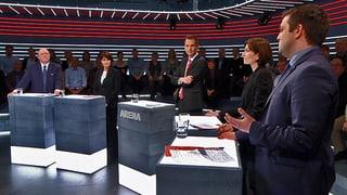 Abstimmungs-«Arena»: Zweite Tunnelröhre am Gotthard