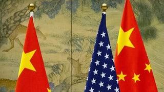 Rivalität zwischen China und den USA dominiert