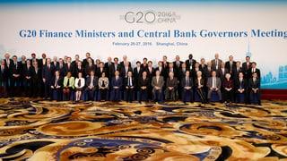 G20 will bei Strukturreformen aufs Tempo drücken