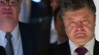 Ukraine: Poroschenko sieht seinen Westkurs bestätigt