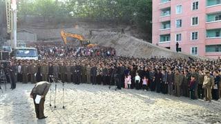 Baupfusch in Pjöngjang: 92 Familien verschüttet?