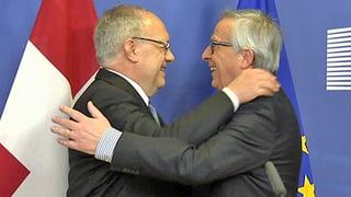 Viele Fragen vor dem Besuch von Jean-Claude Juncker in Zürich