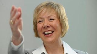 Monika Ribar duai daventar nova presidenta da l'SBB
