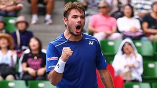 Wawrinka überzeugt weiter und steht in Tokio im Final