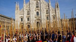 Ein «Alphornmeer» mitten in Mailand