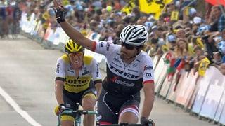 So fuhr Cancellara auf Rang 2 in Oudenaarde