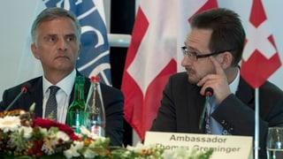 Schweizer will OSZE-Generalsekretär werden
