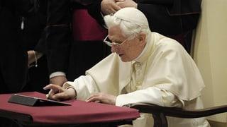 Papst Benedikt XVI. bald offline