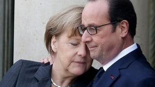 Merkel und Hollande nehmen Muslime in die Pflicht