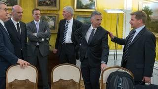 Von-Wattenwyl-Gespräche: Parteien stützen Bundesratskurs