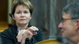 Brigitte Häberli wird Vize-Kommissionspräsidentin