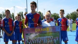 Gigi Oeri eröffnet FCB Nachwuchs-Campus