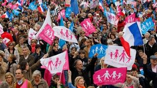 Frankreichs Homo-Ehe-Gegner lassen nicht locker