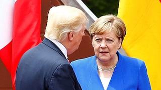 USA sind für Merkel kein verlässlicher Partner mehr