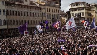 Fiorentina-Fans verabschieden sich von Astori