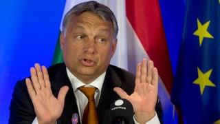 Orban: «Flüchtlings-Krise ein deutsches Problem»