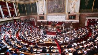 Französische Nationalversammlung für die Homo-Ehe