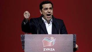 Ein Jahr nach Wahl: Tsipras feiert sich selbst