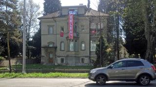 Luzerner Stadtvilla an Obergrundstrasse besetzt